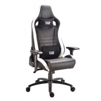DON ONE, Gambino Gaming Chair Sort/Hvid/Carbon