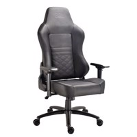 DON ONE  Luciano Gaming Chair BlackBlack stiches