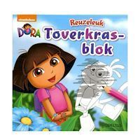 Dora Reuzeleuk Magic Scratch Block