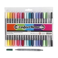 Doublesided pens  Extra colors, 20pcs