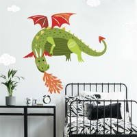 Drage Gigant Wallstickers