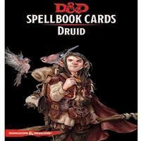 Dungeons & Dragons - 5th Edition - Spell Deck Druid (131 kort)