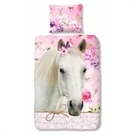 Duvet cover Love Horses