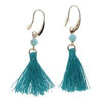 Earrings with Flos Turqoise