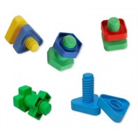Edushape - Nuts and Bolts, 48 Piece