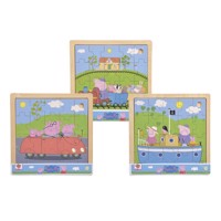Eichhorn Wooden Puzzle Peppa Pig