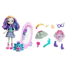 Enchantimals doll with clothing set peacock