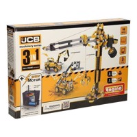 Engino JCB - Motorized Work Vehicles, 3in1