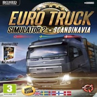 Euro Truck Simulator 2  Scandinavia Nordic Boxed version - PC