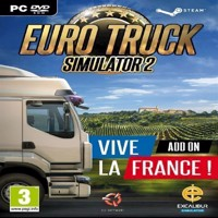 Euro Truck Simulator 2  Vive La France AddOn - PC