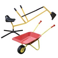 Excavators amp Metal Wheelbarrow