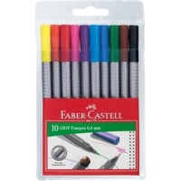 Faber-Castell - Grip Finepens, 10 pcs