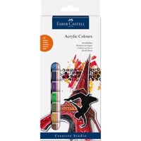 Faber-Castell - Starter Kit - Acrylic Colours