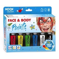 Face amp Body Paint Makeup Set  Primary Colors