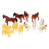Farm animals, 12pcs