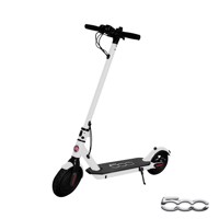 Fiat 500 electrical scooter white