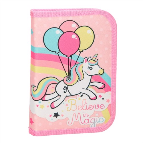 Filled pouch unicorn