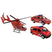 Fire department Diecast Playset, 3dlg