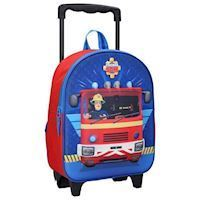 Fireman Sam 3D Trolley Backpack