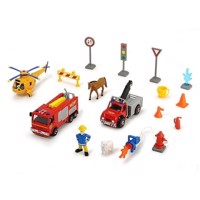 Fireman Sam Vehicle Set with Accessories