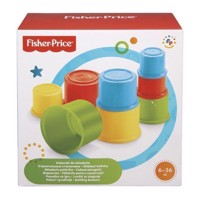 Fisher Price - Building Beakers Stacking Blocks Cups