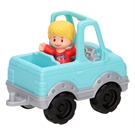 Fisher Price Little People - Blue Jeep