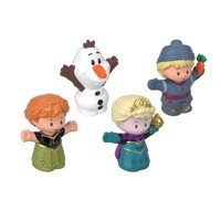 Fisher Price - Little People Frozen 4-pack figures