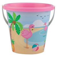 Flamingo bucket