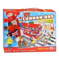 Floor Puzzle Big Red Bus