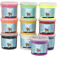 Foam Clay -Assorted Colors - 10x560g