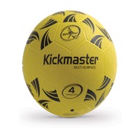 Fodbold kickmaster multi surface rubber size 4