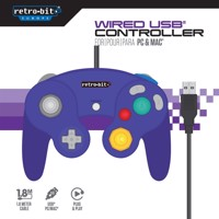 Game Cube Controller Purple Usb For Pc Pc