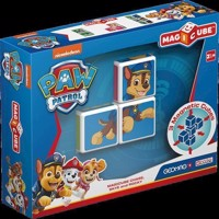 Geomag Magicube  Paw Patrol Chase, Skye and Rocky 1077