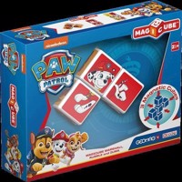Geomag Magicube  Paw Patrol Marshall, Rubble and Zuma 1078