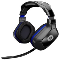 Gioteck hc 2 overear wired stereo headset black/blue