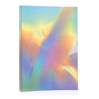Glittering Notebook Rainbow A6