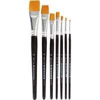 Gold Line Brushes  Size 020  W 224 mm  Flat  7 mixed 10247