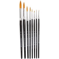 Gold Line Brushes  Size 022  W 1,58 mm  Round  8mixed 10747