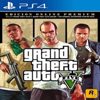 Grand Theft Auto V GTA 5 premium online edition PS4