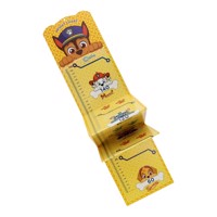 Growth chart paw patrol yellow