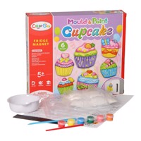 Gypsum Pouring Magnets - Cupcakes