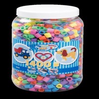 HAMA Beads - Maxi - 1400 beads in tub - Pastel Mix (8541)