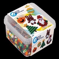 Hama Beads - Maxi - Maxi Beads and Pegboards in Box (6402)