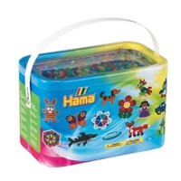 HAMA Beads - Midi - 10.000 Beads in Bucket - Glitter Mix