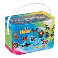 HAMA Beads - Midi - 10.000 Beads in Bucket - Mix 69