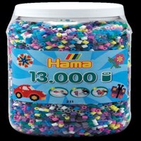 HAMA Beads - Midi - 13.000 Beads in Tub - Mix 69