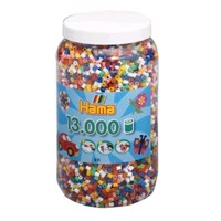 HAMA Beads - Midi - Beads in bucket Mix, 13.000 pc (211-00)