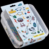 Hama Beads - Mini - Beads and Pegboards in Box