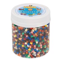 Hama Ironing Beads in Pot  Color Mix 67, 3000pcs