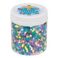 Hama Ironing Beads in Pot  Color Mix 69, 3000pcs